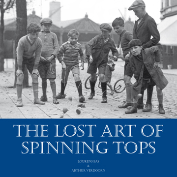 Book cover Lost Art of Spinning Tops